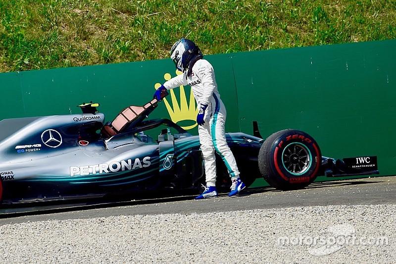 Bottas utilise déjà son troisième moteur