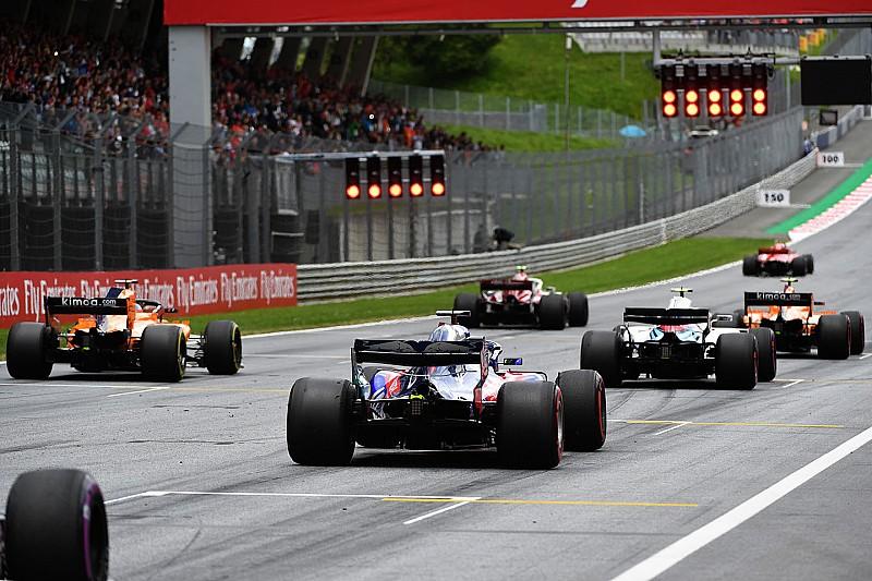 Avusturya GP öncesi: Yarış gridi