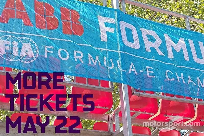 Der Zürich ePrix bietet mehr Tickets für die Tribüne