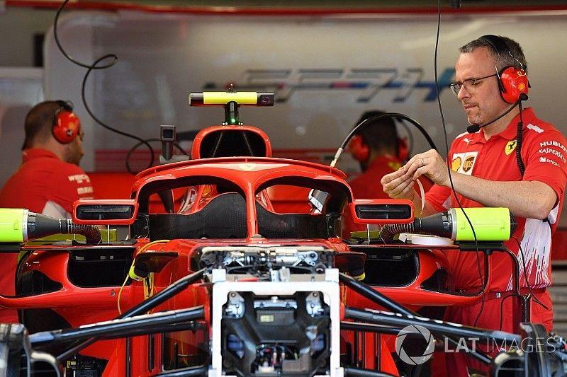 فيراري تُعدّل تصميم مرايا الطوق لسباق موناكو