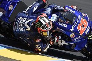 Viñales resurge en el tercer ensayo libre en Le Mans