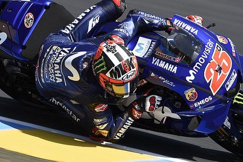 A gyári Yamaha elfogy a melegben