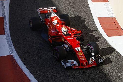 2017 Abu Dhabi testinin son gününde Vettel lider, Kubica yedinci
