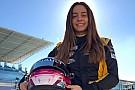 Marta Garcia, Renault'nun sürücü akademisinde çıkartıldı