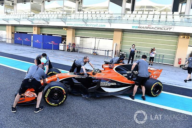 Formel-1-Test in Abu Dhabi: Ergebnis, 2. Tag