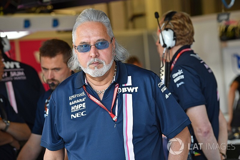 Mallya denies Force India is for sale