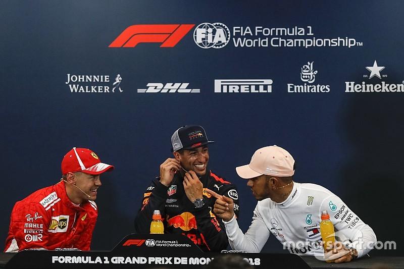 Vettel y Hamilton sabían que Ricciardo lograría la pole