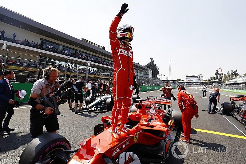 墨西哥大奖赛排位赛:维特尔挫败维斯塔潘杆位希望