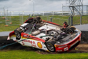 Supercars Breaking news Coulthard on Pukekohe rollover: