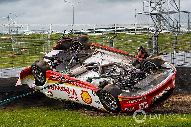 """Coulthard on Pukekohe rollover: """"What could I have done?"""""""