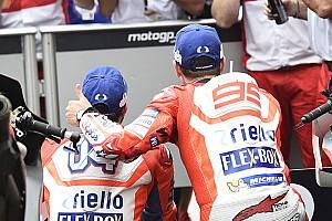 MotoGP Важливі новини Лоренсо та Довіціозо: чи загрожує Ducati конфлікт?