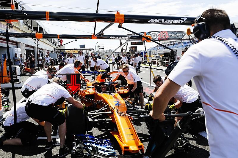 A McLarennél egyre elviselhetetlenebb a légkör