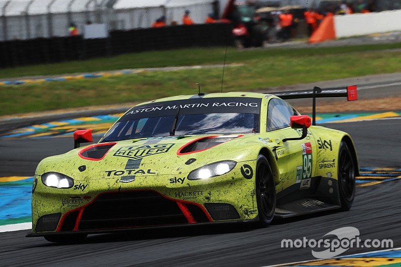 Aston Martin shuffles WEC line-ups for remainder of 2018