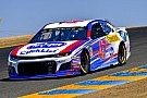 NASCAR Cup Allmendinger wins Stage 1 at Sonoma after Truex and Harvick pit