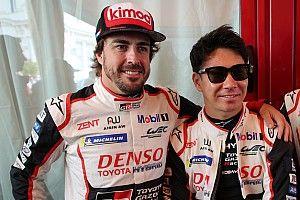 Alonso y López intercambiaron cascos tras las 24 Horas de Le Mans