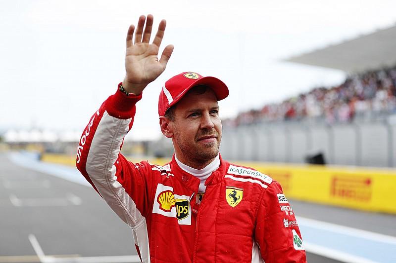 Campeonato: Vettel duró poco en lo más alto