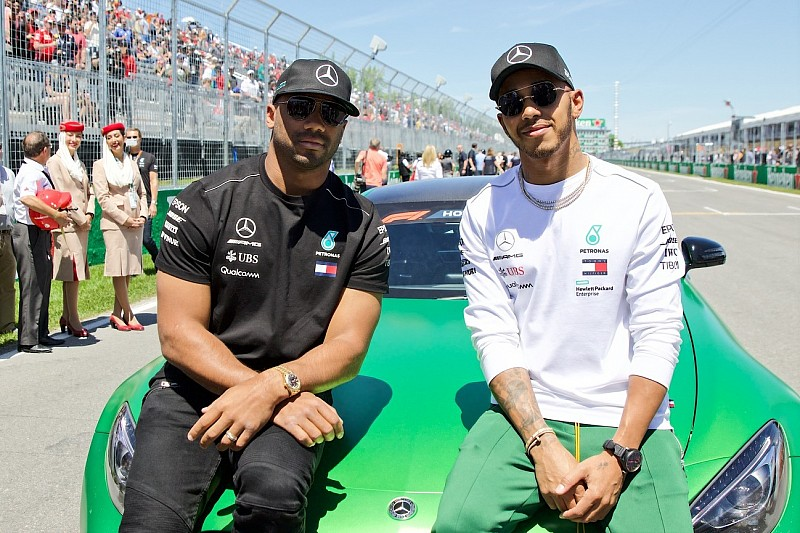 """NFL star Russell Wilson: Montreal F1 """"reminded me of Super Bowl"""""""