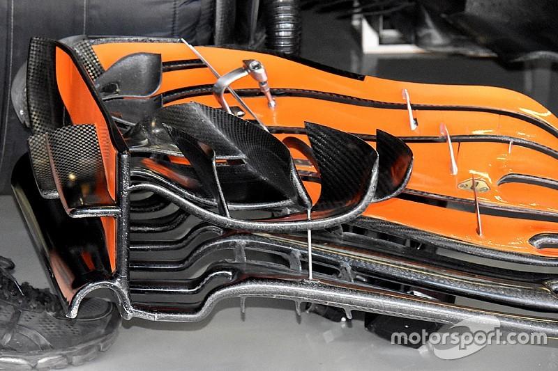 VIDEO: Analisis sayap depan terbaru McLaren F1