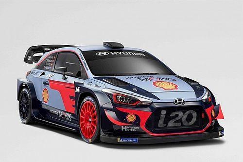 Hyundai Motorsport svela la livrea 2018 della i20 WRC Coupé