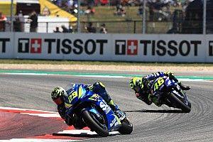 Dua podium beruntun, Rossi waspadai Suzuki
