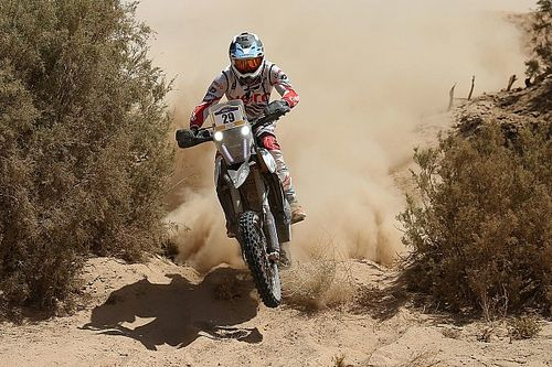 Merzouga Rally: Sherco TVS finishes inside top 10, Santosh 19th