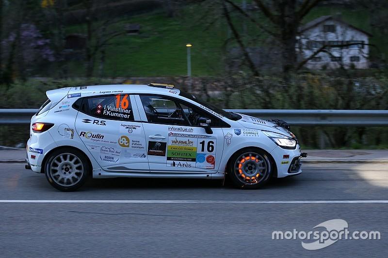 Das Duo Vuistiner-Kummer gewinnt den zweiten Lauf der Clio R3T Alps Trophy
