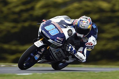 Moto3豪州予選:終盤に降雨。マルティンが今季8回目のPP。鈴木10番手