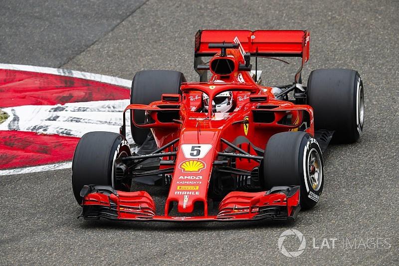 Los Ferrari acaban los libres de China al frente y Red Bull sufre