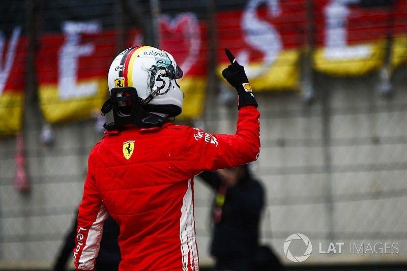 """Vettel: """"Sabía que tenía todo en regla, pero la ventaja es una sorpresa"""""""