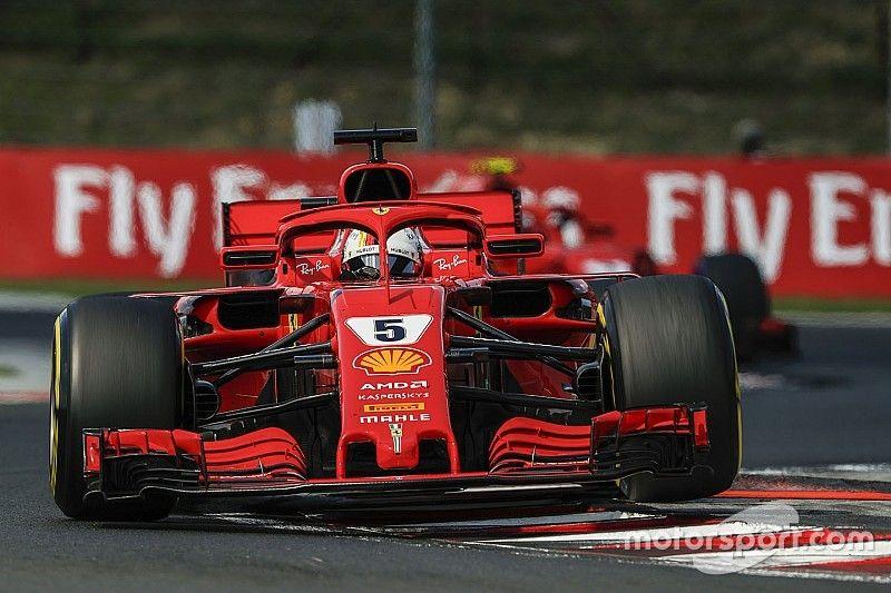"""Vettel over strategie Ferrari: """"Hebben het prima gedaan"""""""