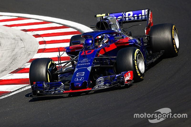 Las actualizaciones de Toro Rosso