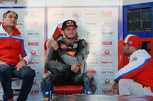 """Miller débute sur Ducati: """"Très content de la moto et de l'équipe"""""""