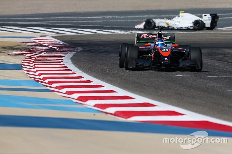 Podio de Tatiana Calderón en la última carrera de la F3.5 V8