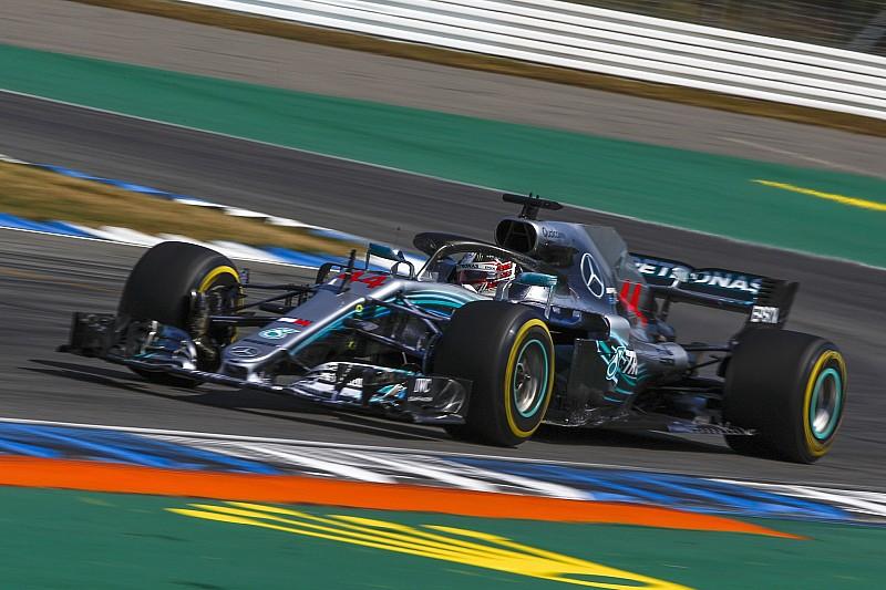 Mercedes hinter Red Bull, aber mit Reserven: Reifen überhitzten