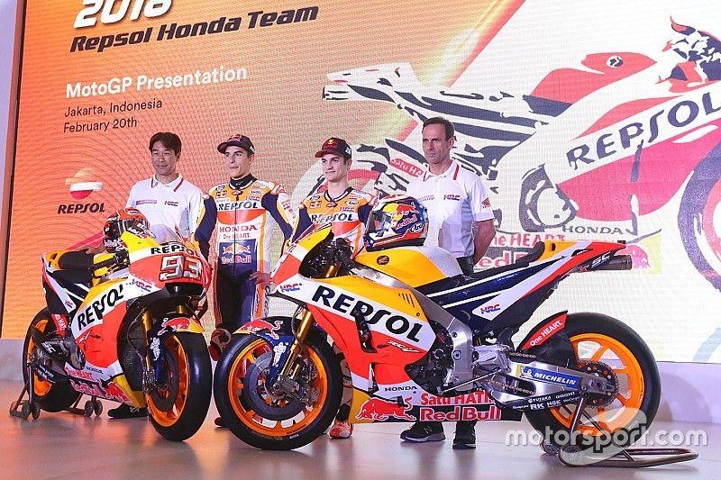 Honda präsentiert MotoGP-Projekt 2018