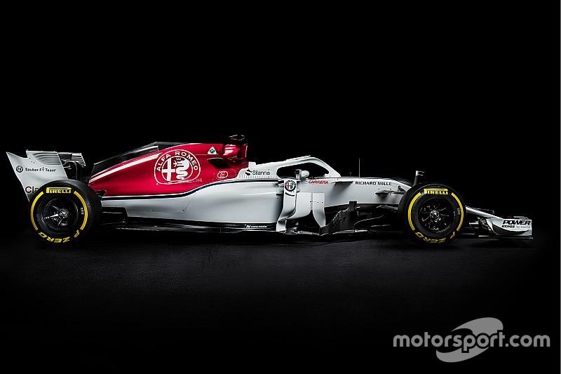 La distancia entre ejes del Sauber sugiere un cambio en Ferrari