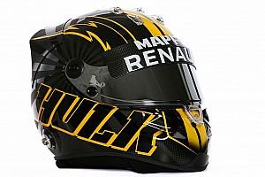 Fórmula 1 Noticias Nico Hulkenberg presume su nuevo casco en redes sociales