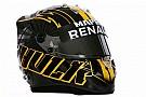 Formula 1 Fotogallery: Hulkenberg presenta il nuovo casco per la F.1 2018
