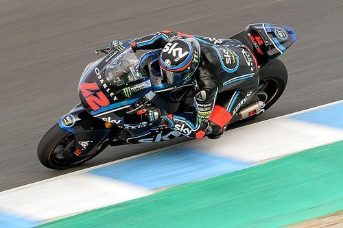 Bagnaia en Moto2 y Bastianini en Moto3 marcan el ritmo en los test de Jerez