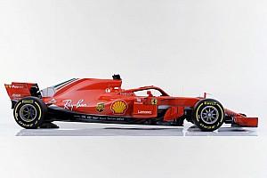 Ferrari показала машину 2018 года. У нее новая ливрея