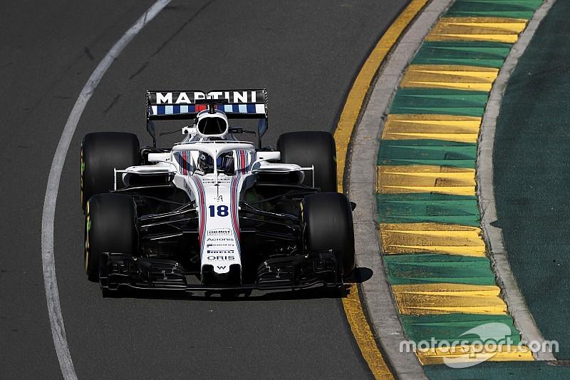 Williams é único time da F1 a não bater tempo de classificação feito em 2018