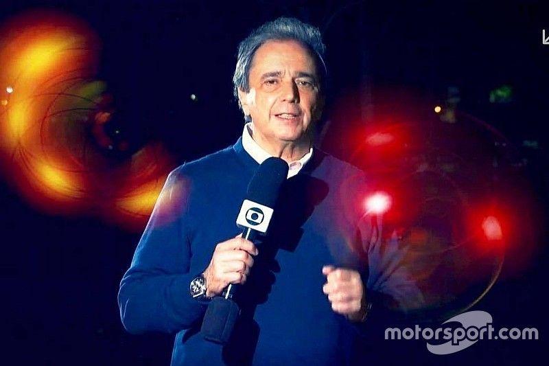 Reginaldo Leme completa 40 anos de F1 na Globo