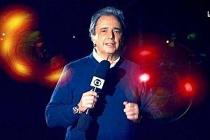 Galvão confirma Reginaldo Leme fora de GP 1000 da F1 na Globo: 'Infelizmente não teremos a voz dele'