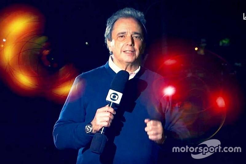 Galvão Bueno homenageia Reginaldo Leme nas redes sociais