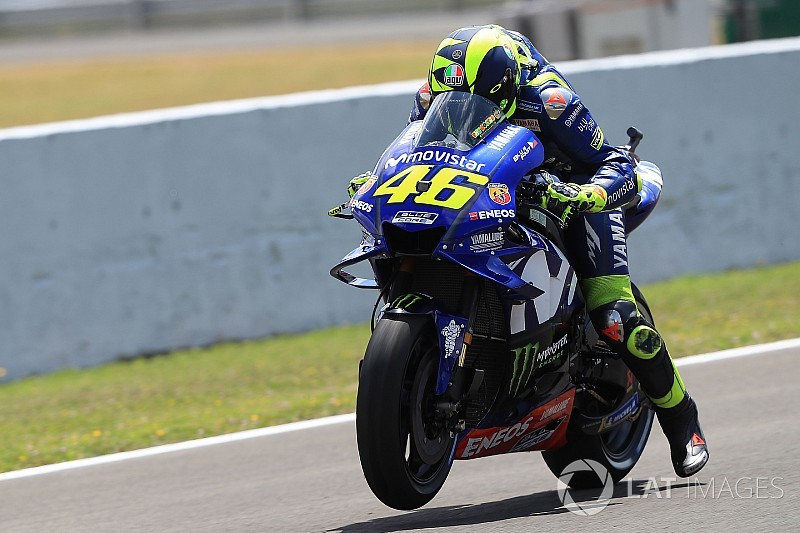 """Rossi: """"Va a ser una carrera dura porque no tenemos ritmo"""""""