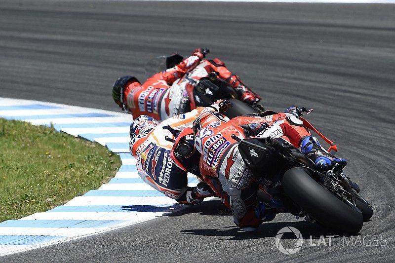 """Dovizioso: """"Lorenzo miatt vesztettem el a győzelmet Jerezben"""""""