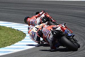 MotoGP 速報ニュース ドヴィツィオーゾ「クラッシュがなくても、勝てなかったと思う」