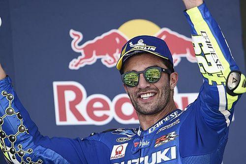 Nächstes Suzuki-Podest: Iannone in der WM der beste Italiener