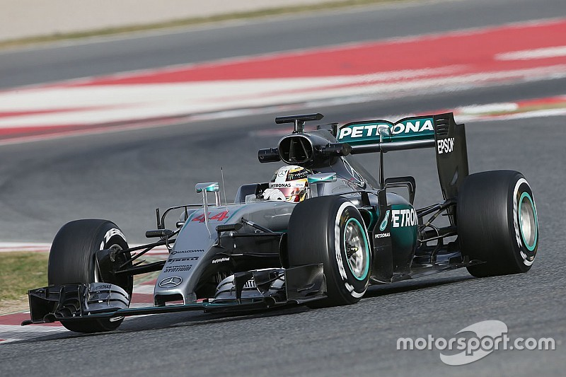 "Mercedes planning ""unusual"" parts for F1 test"