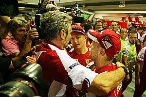 Raikkonen: Arrivabene, Ferrari'nin şampiyon olabilmesi için en doğru adam